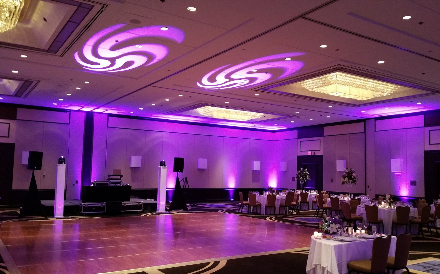 mitzvah lighting rental