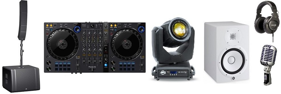 selling dj equipment