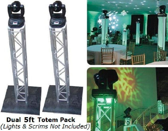 2 global truss 5ft square trussing package kpodj for Truss package cost