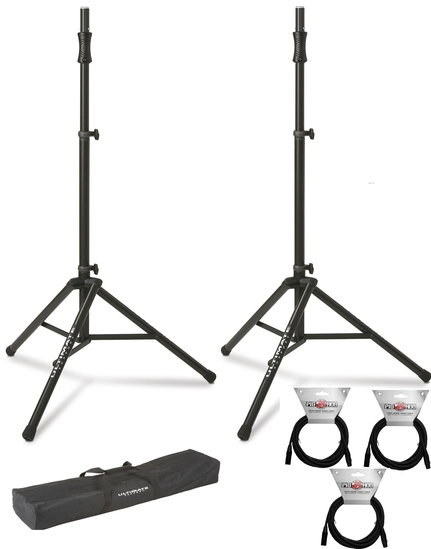 2x-ultimate-support-ts-100b-w--bag-and-cables.jpg