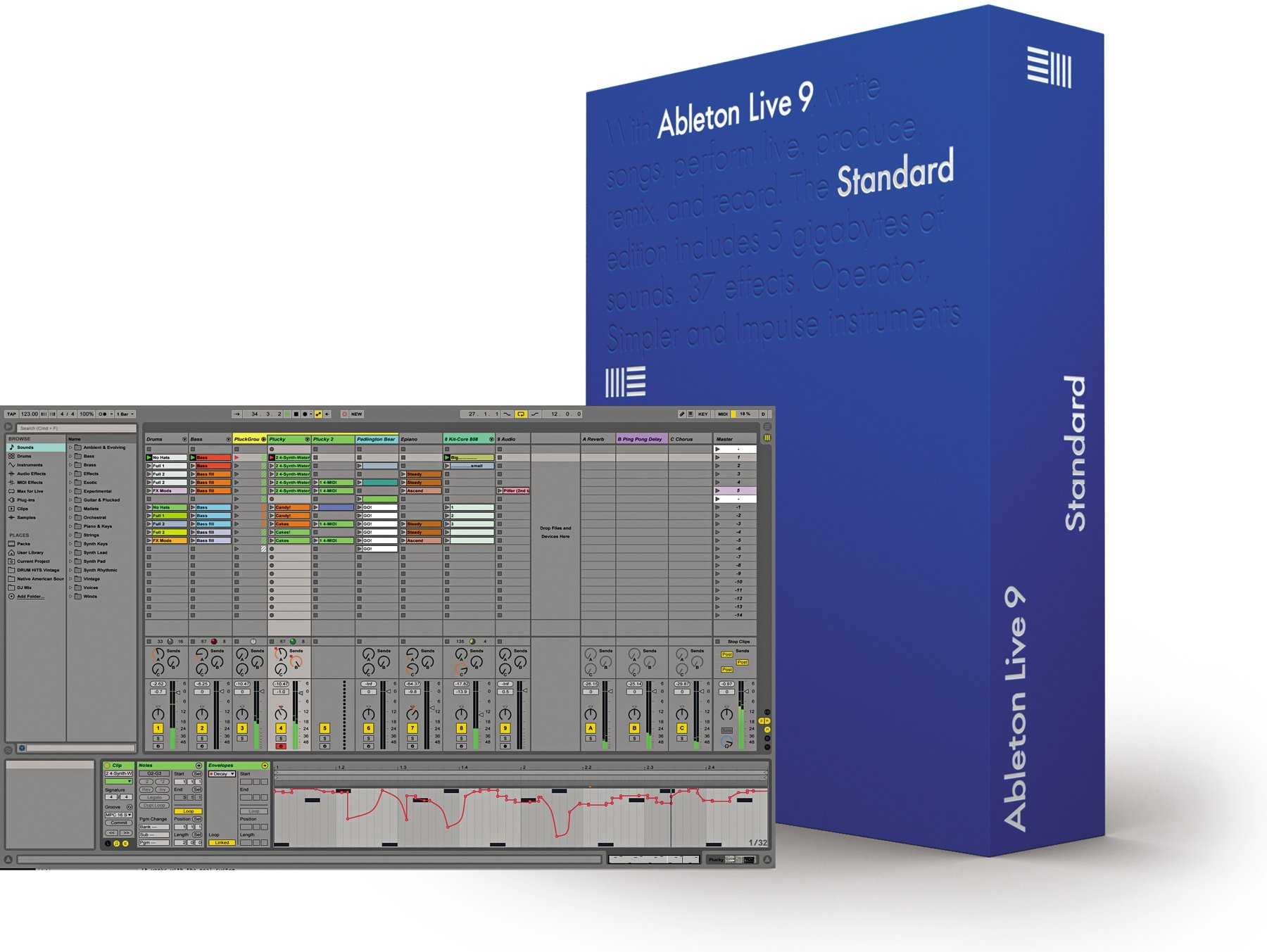 ableton live 9 standard upgrade from live 9 lite download kpodj. Black Bedroom Furniture Sets. Home Design Ideas