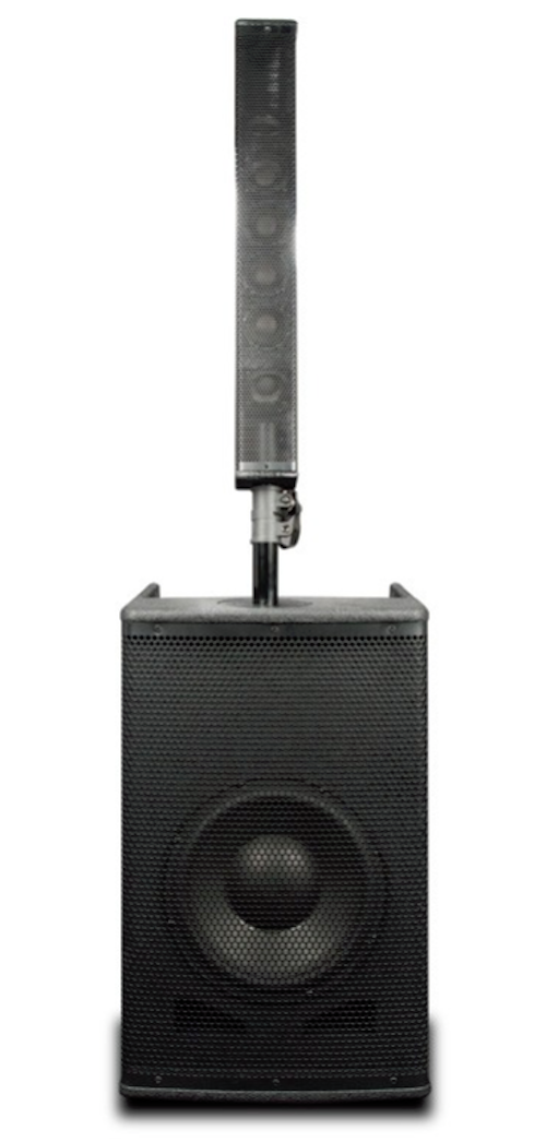 ADJ American Audio STK-106W Portable Array System with 10-inch Woofer & 6x 2-inch Driver Array