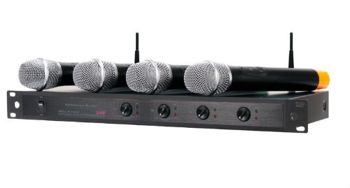 ADJ American Audio WU-419V 4-Channel UHF Wireless Microphone System