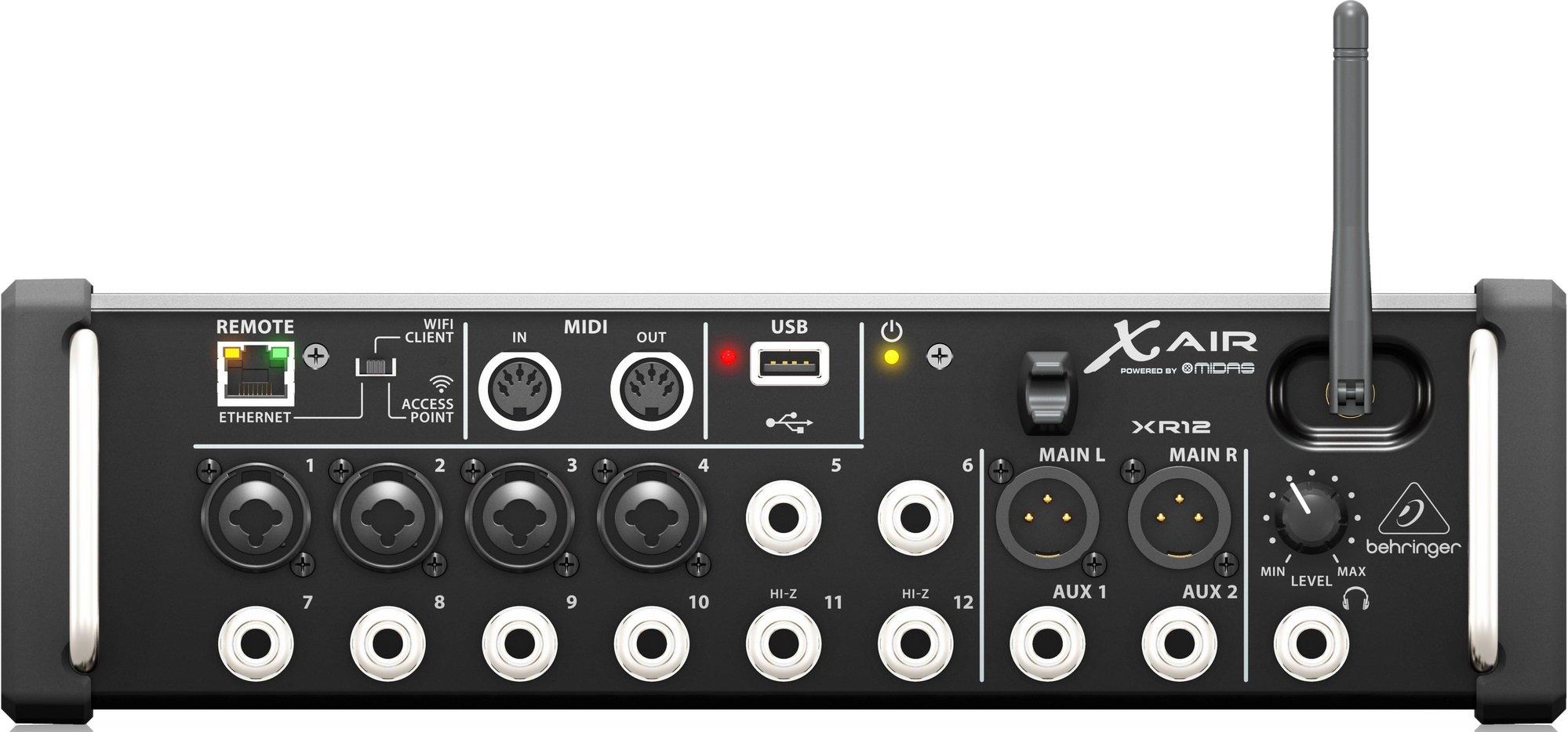 Behringer X AIR XR12 Mixer | Rack Mount DJ Mixer