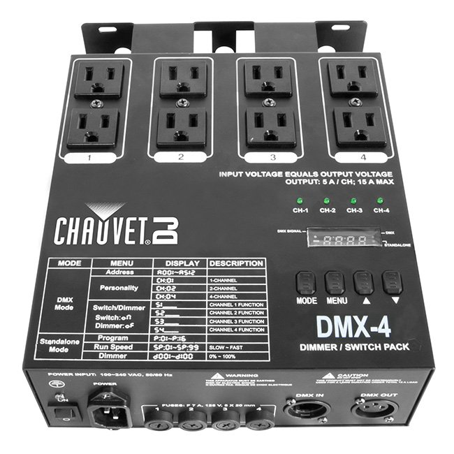 Chauvet DJ DMX-4 Dimmer Pack