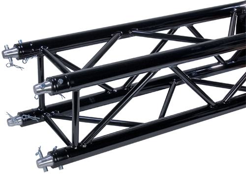 Global Truss SQ-4113 BLK (8.2ft Black Powder Coat - Matte Finish)