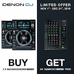 Denon SC5000M and X1800 Prime Package Promo | Buy 2 SC5000M and Get a X1800 Free