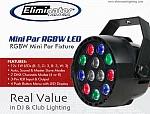 Eliminator Mini Par RGBW LED