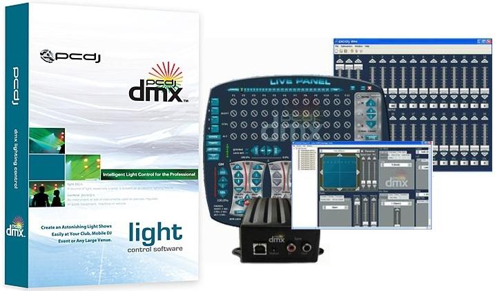 pcdj dmx lighting control software kpodj. Black Bedroom Furniture Sets. Home Design Ideas