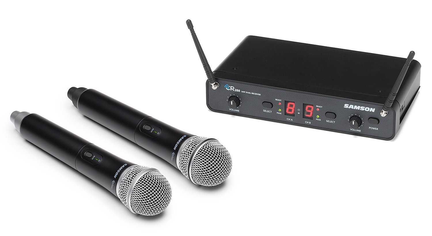Samson Concert 288 (SWC-288HQ6-H) Dual Handheld Wireless System