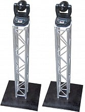 (2) Global Truss 6.4ft Square Truss Totem Package
