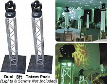 (2) Global Truss 8.2ft Square Trussing Package | F34 Totem Pack
