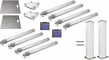 2x Global Truss 6.5ft Glow Totems (pair)