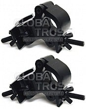2x Global Truss Pro Swivel Clamp/BLK