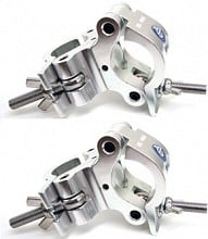 2x Global Truss Pro Swivel Clamp [pair]