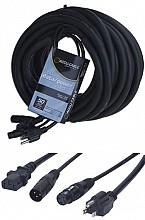 American Audio SKAC50 50ft XLR / IEC Combo