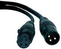 American DJ AC3PDMX10 ACCU 10ft DMX Cable