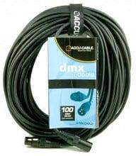 American DJ AC3PDMX100 ACCU 100ft DMX Cable