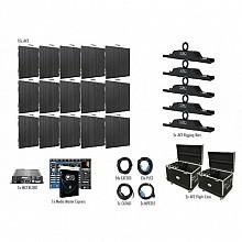 American DJ AV3 Video Wall 5x3 Complete Package