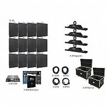 American DJ AV3 Video Wall 4x3 Complete Package