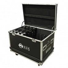 American DJ AV6FC AV6 Case (8pc)