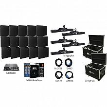 American DJ AV6X Video Wall 5x3 Complete Package