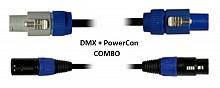 Blizzard Lighting DMXPC-6 (6ft DMX + PowerCon Combo Cable)
