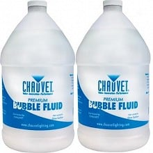 Chauvet DJ Bubble Fluid BJU (2 Gallons)