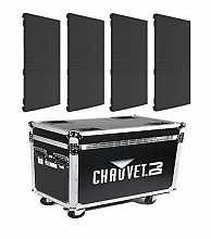 Chauvet DJ Vivid 4 (4-pack w/ flight case)