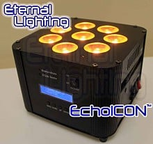 Eternal Lighting Echo Icon RGBWA+UV MKII (black)
