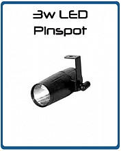 Eternal Lighting LED Pinspot