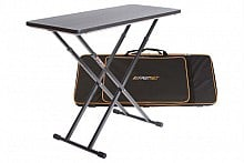 Fastset Table w/ Carry Case (black table)
