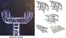 Global Truss Double Curve Totem (7.4ft)