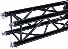 Global Truss SQ-4111-1250 BLK (4.1ft Black Powder Coat - Matte Finish)