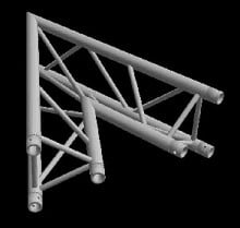 Global Truss TR-4086-I (2 Way 45 Degree Corner)