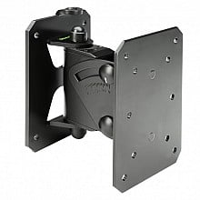 Gravity Stands GSPWMBS20B - Tilt and Swivel Wall Mount for Speakers up to 44 lbs (black)