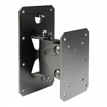 Gravity Stands GSPWMBS30B - Tilt-and-Swivel Wall Mount for Speakers up to 66 lbs (black)