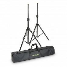 Gravity Stands SS5212BSET1 - Set of 2 Steel Speaker Stands w/ bag
