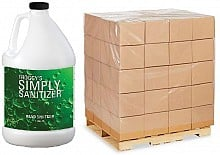 Simply Sanitize - Hand Sanitizer Spray (144 Gallon Pallet)