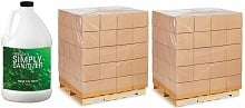 Hand Sanitizer Pallets of 256 Gallons | 80% Alcohol Spray (256 Gallon Pallets)