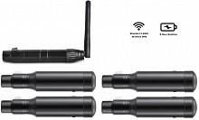 JetCo DMX Wireless Pack (4 Receivers, 1 Transmitter)