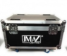 JMaz FLIGHT CASE FOR CRAZY BEAM 40 FUSION (Holds 6 PCS)