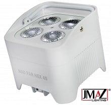 JMaz Mad Par Hex 4S (White)