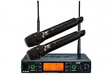 JTS RU8012DB/ RU850LTH Dual Handheld Wireless System