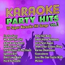 Karaoke Music Karaoke Party Hits Vol. 1 (digital download)