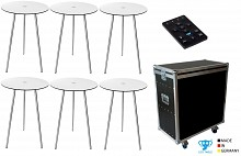 LED-Table Cocktail 75R TourPack