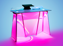 LED-Table DJ Booth