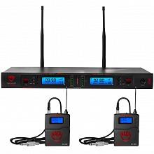 Nady 2W-1KU-GT Dual Transmitter 1000-Channel UHF Guitar/Instrument Wireless System