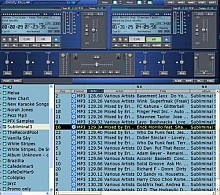 PCDJ Blue VRM  (download, sent via e-mail)