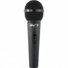 Peavey PV7 Microphone w/ XLR to 1/4
